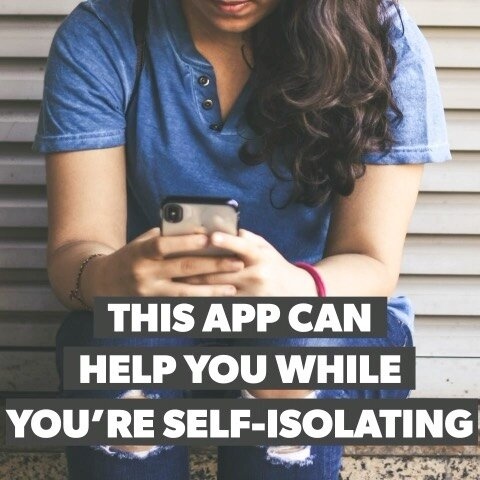 Let's face it, self-isolation can be tough 😔 @talkspace can seriously help you with any anxieties or stress you're feeling at this time💜 Find out more info here. Link in bio!