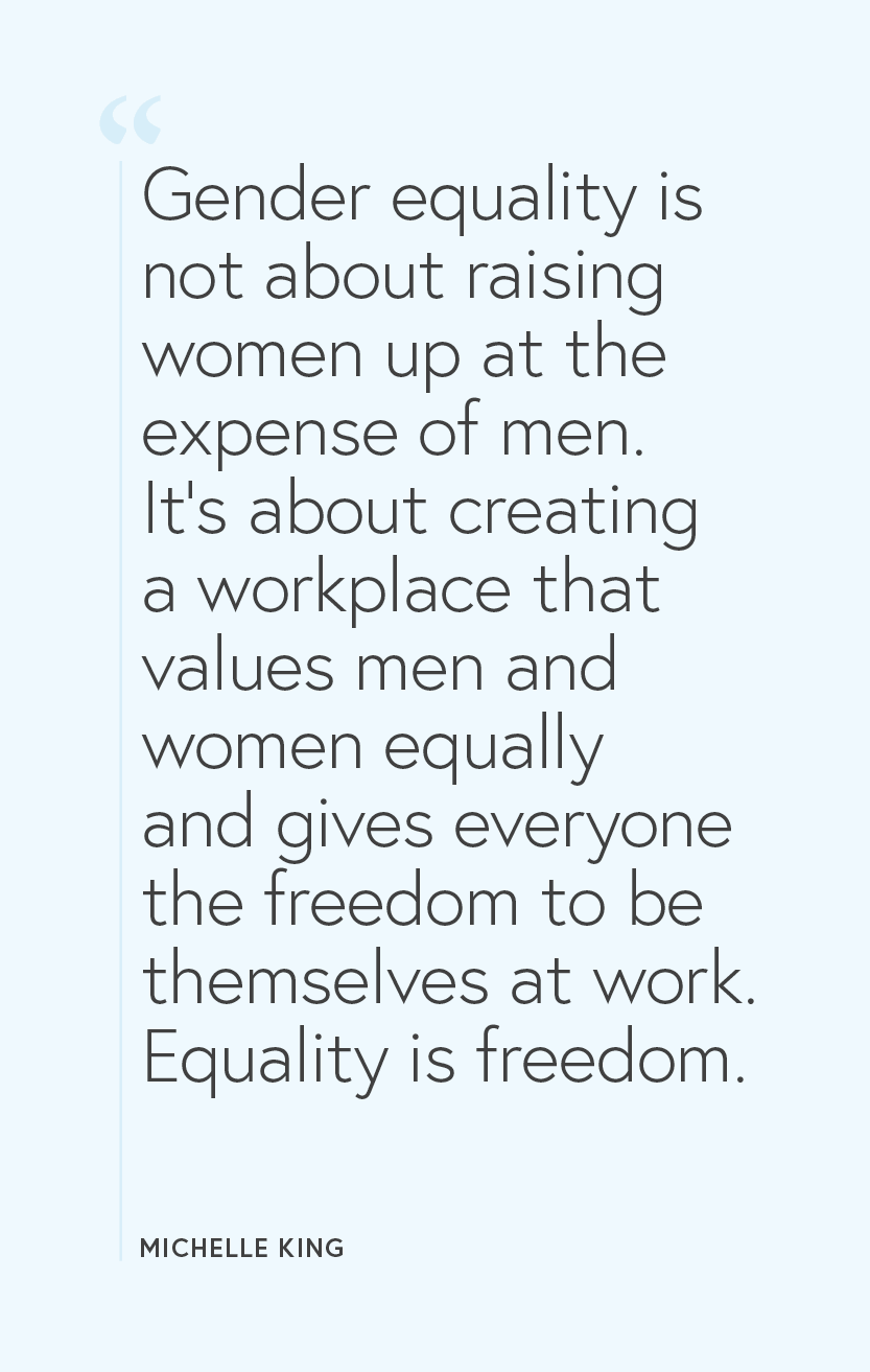 Gender Equality Quotes : gender, equality, quotes, About, Michelle, Putting, Equality, Practice