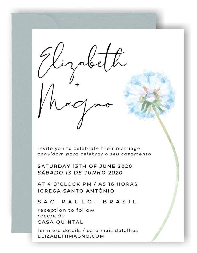 27 Examples of Bilingual Wedding Invitations — I Do Bilingual