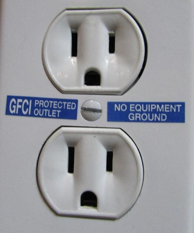 Gfci Protected Outlet Sticker : protected, outlet, sticker, Options, Repairing, Ungrounded, Three-prong, Outlets, Structure, Inspections