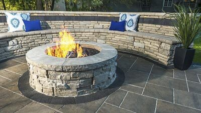 madison outdoor fire pits and fireplace
