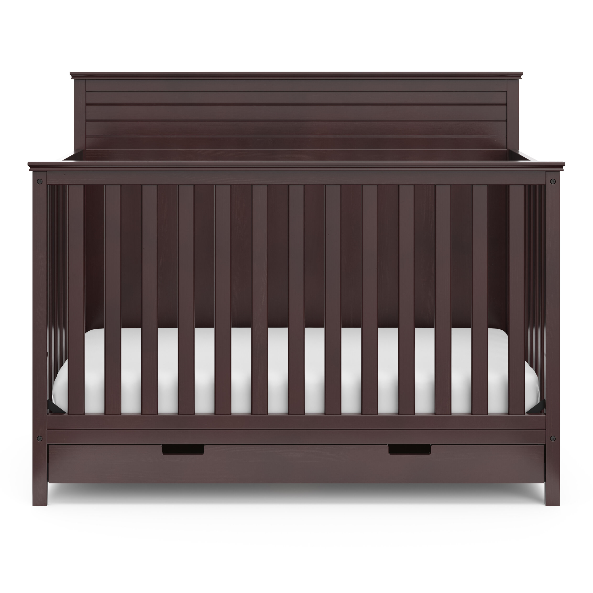 storkcraft homestead 4 in 1 convertible crib with drawer storkcraft
