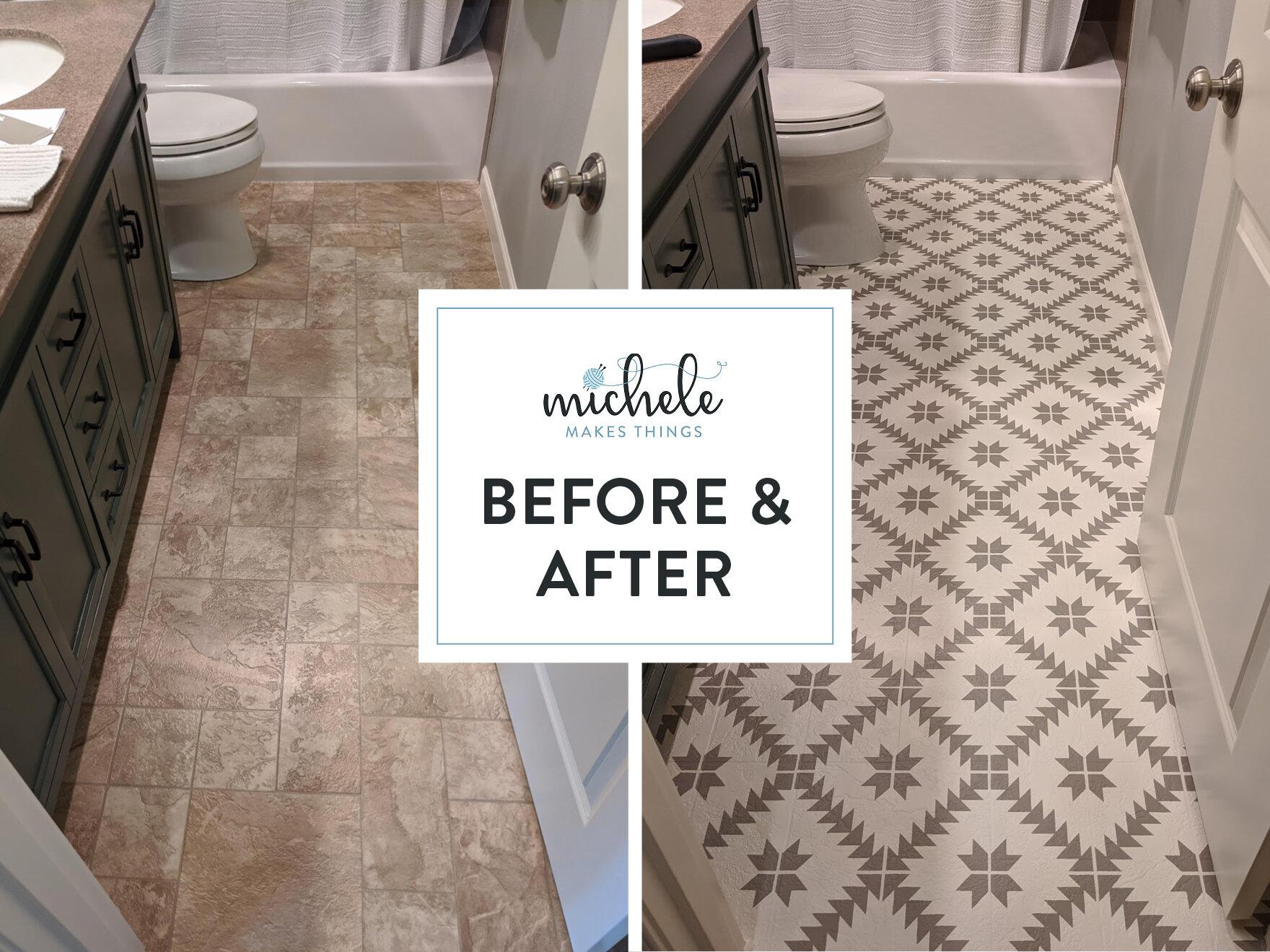 budget friendly bathroom makeover part