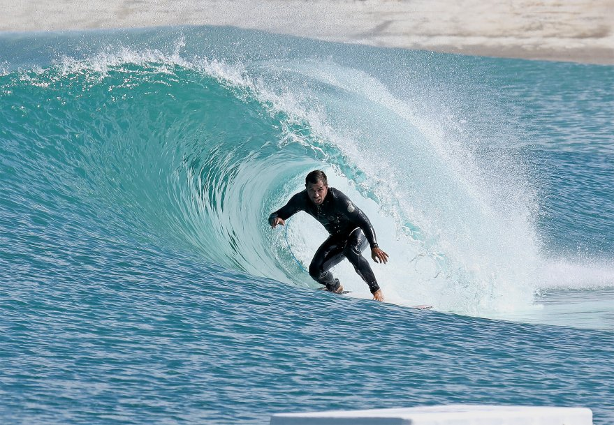 Dean Morrison finds the sweet spot on the Island right.