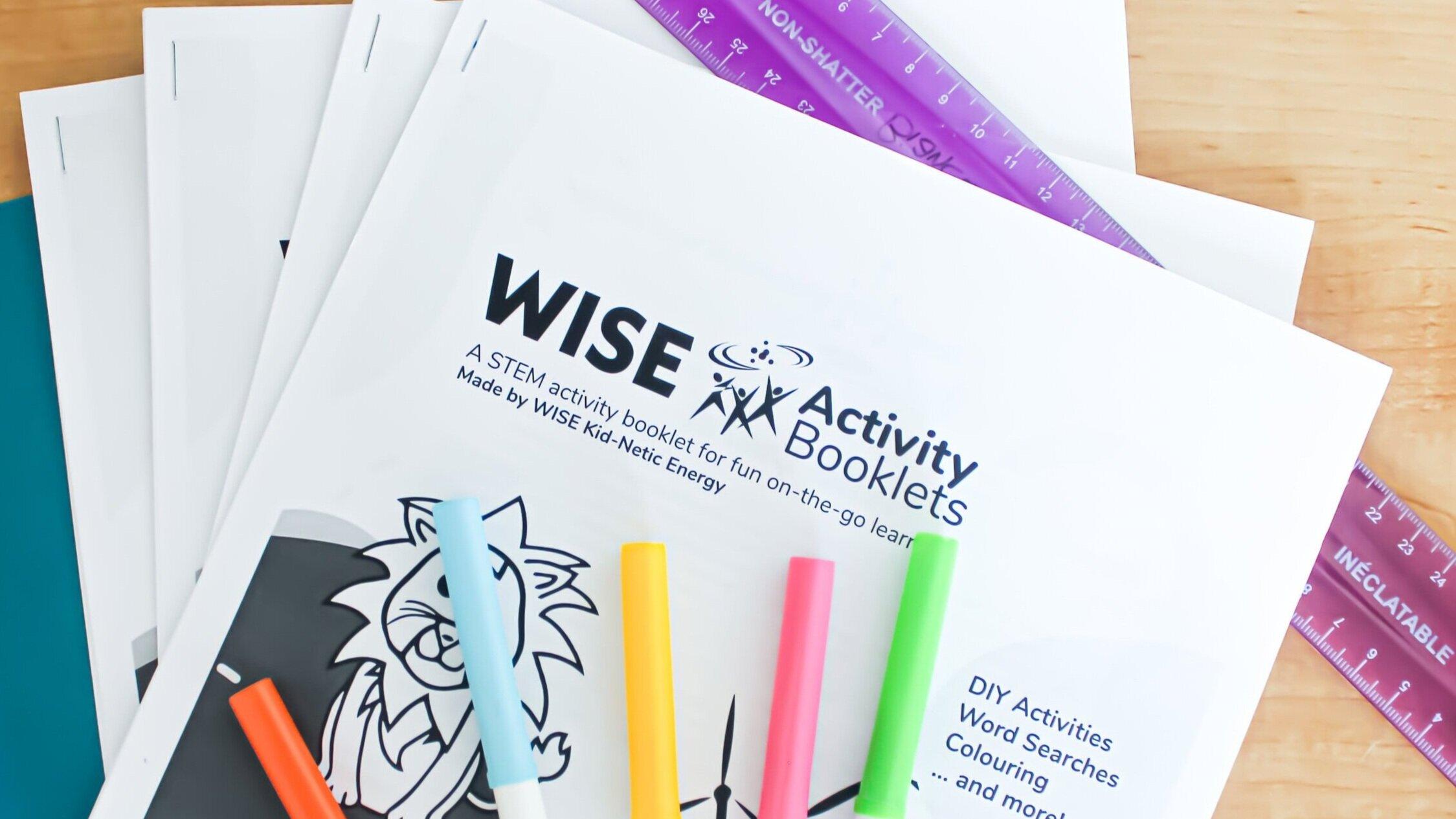 Activity Booklet Worksheets — WISE Kid-Netic Energy [ 1265 x 2249 Pixel ]
