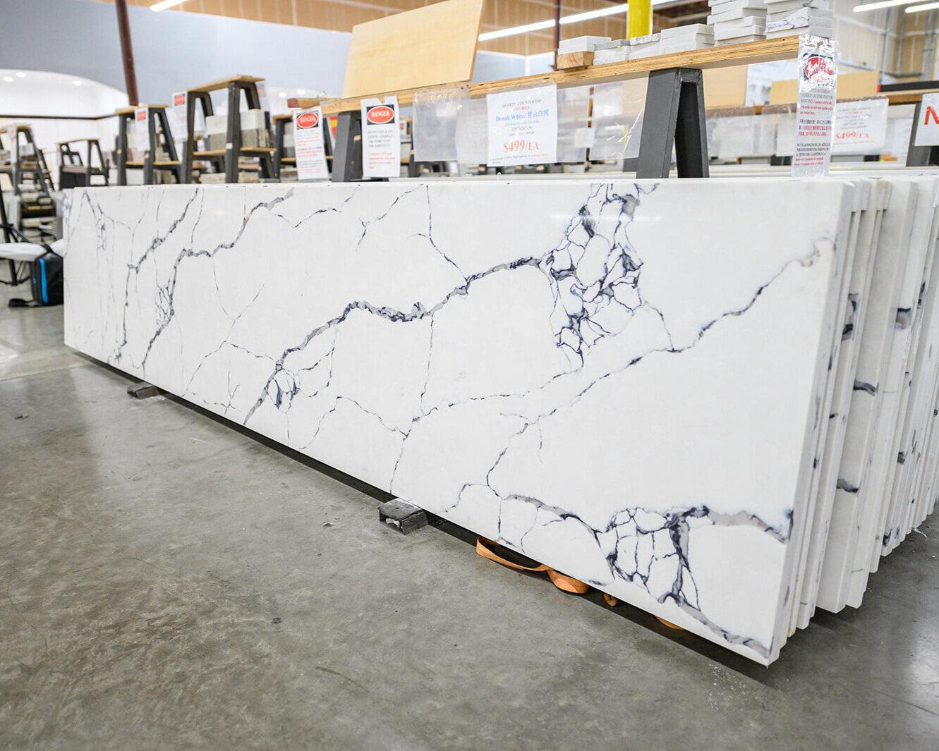 uni tile marble home