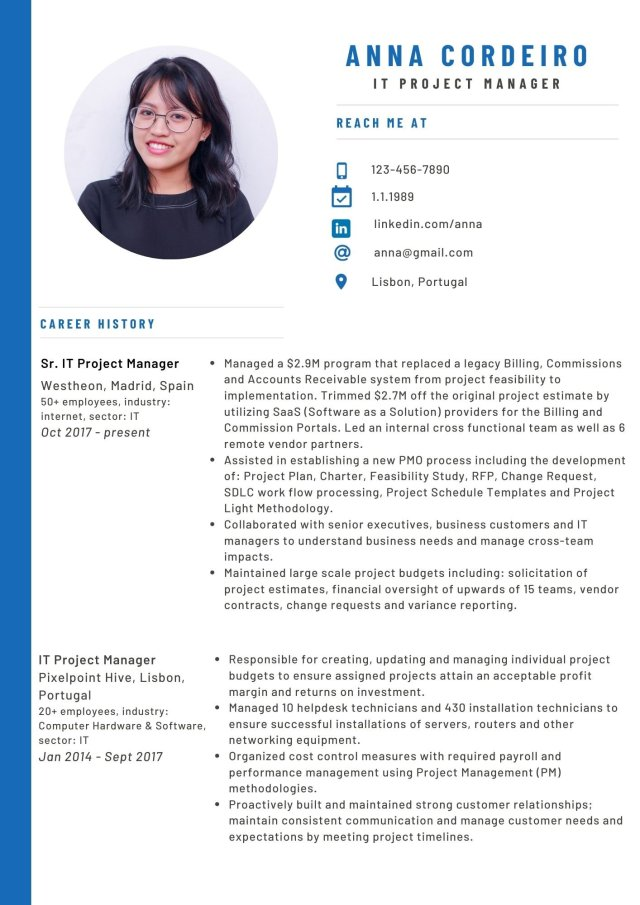 Creating a CV that will convince recruiters — meetra Germany