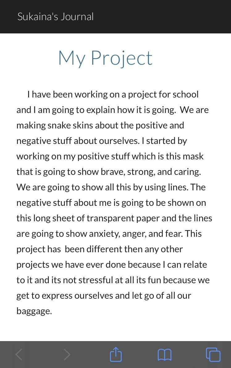 From Sukaina's Blog