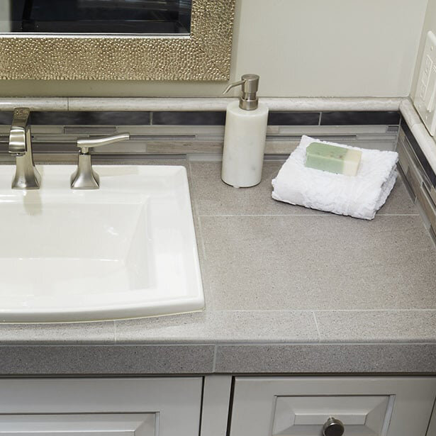 countertops for kitchens and bathrooms