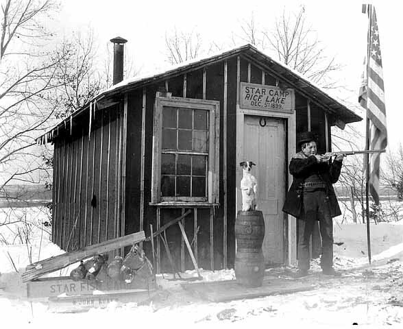 Image from the Minnesota Historical Society. Click on the image to learn more.  - Time and human ingenuity have allowed the progressive adoption of numerous technologies that enhance and deteriorate society's foundation and fabric. One activity- hunting, has broadly transitioned from a necessity to a recreation.Even though the broader Value Added by Private Industries: Agriculture, Forestry, Fishing, and Hunting as a Percentage of GDP graph, shows the overall segment to be back to the pre-recession level Q1,2020. State Licenses, Stamps, Tags, and Permits present a different paradigm. One state, Wisconsin, allows for the construction of a more granular inspection of this recreation.