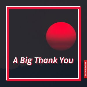 Big Thank You Images full HD free download.