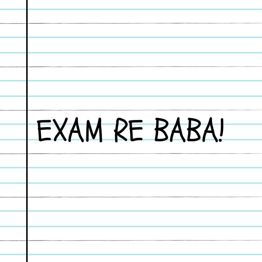 Exam Hindi WhatsApp Dp Image full HD free download.