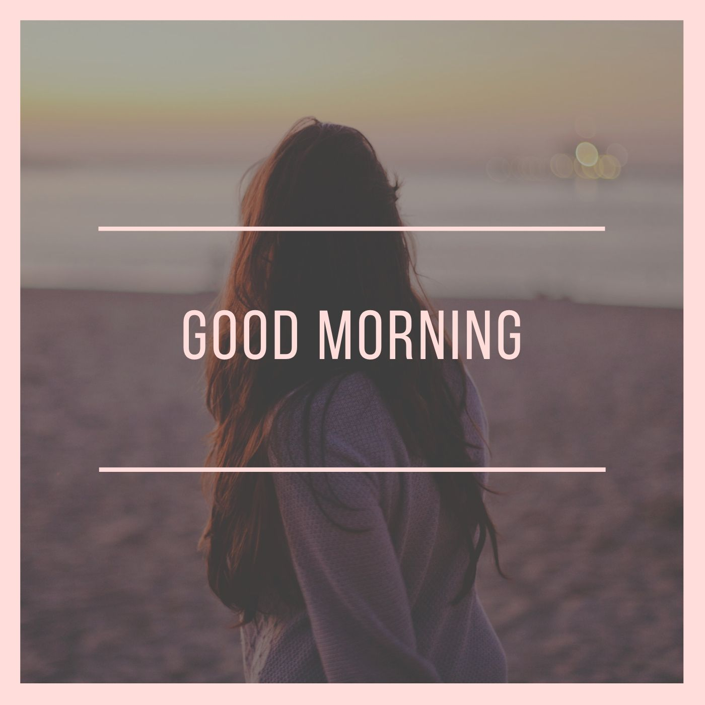 Good Morning Image for Girls full HD free download.