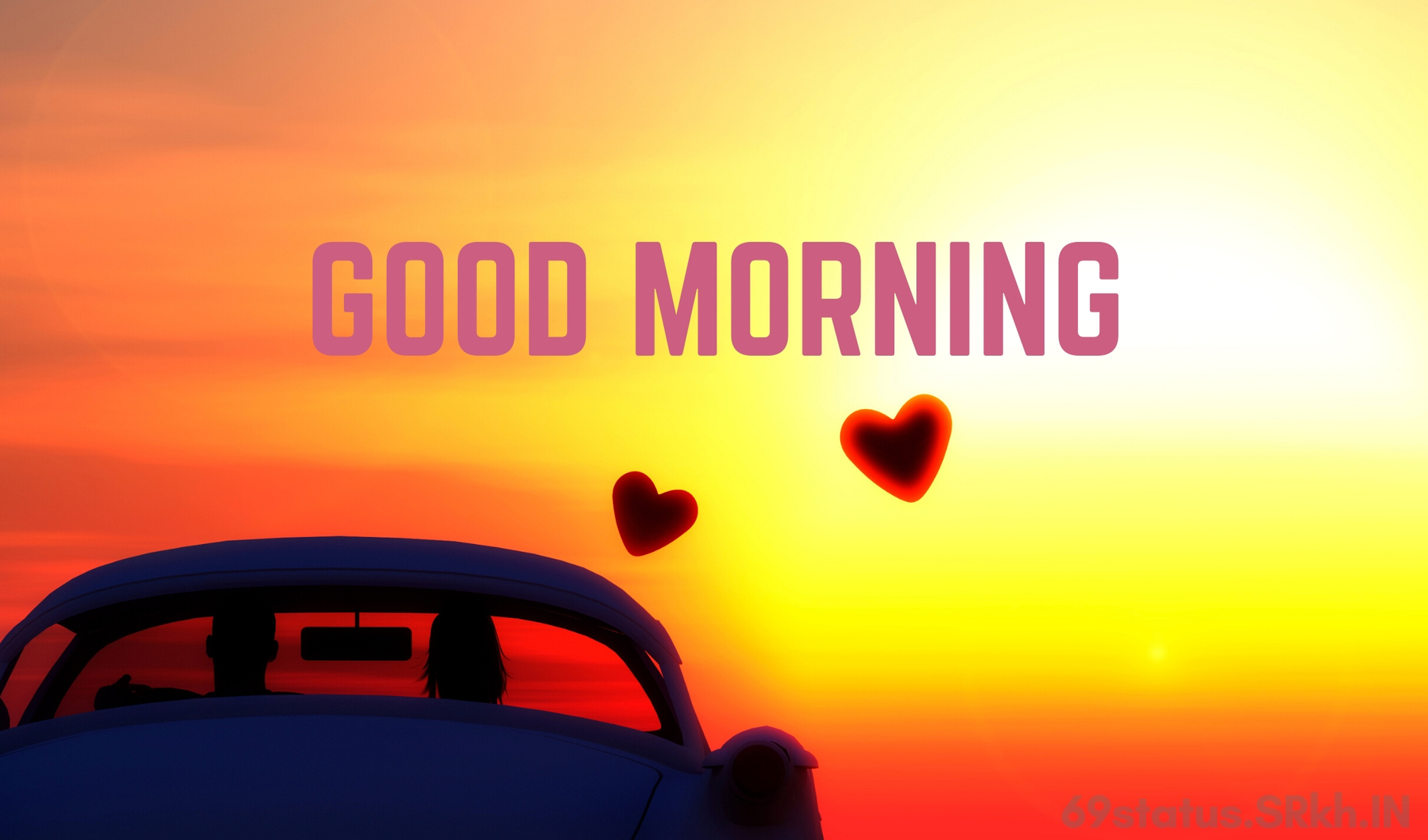 Good Morning Romantic Sun Rising Image full HD free download.