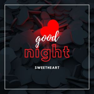 Good Night Sweet Heart Image with love symbol full HD free download.