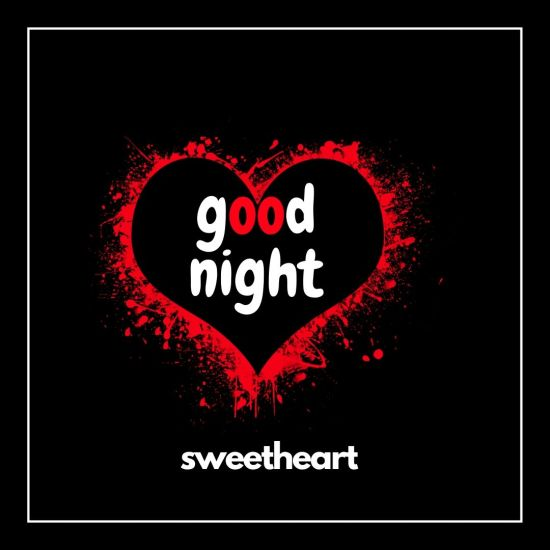 Good Night Sweet Heart love image