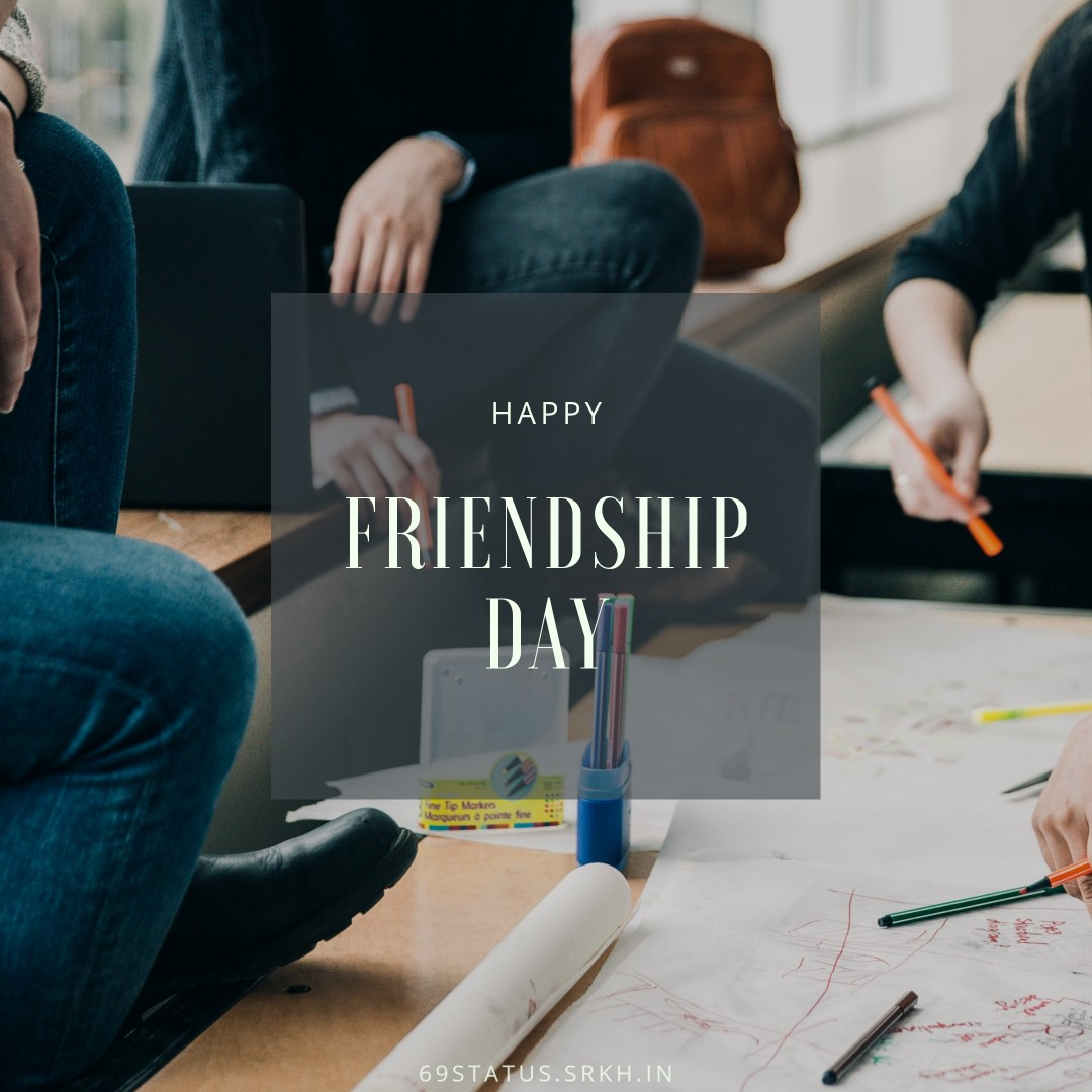 Happy Friendship Day Image Project Assignment full HD free download.