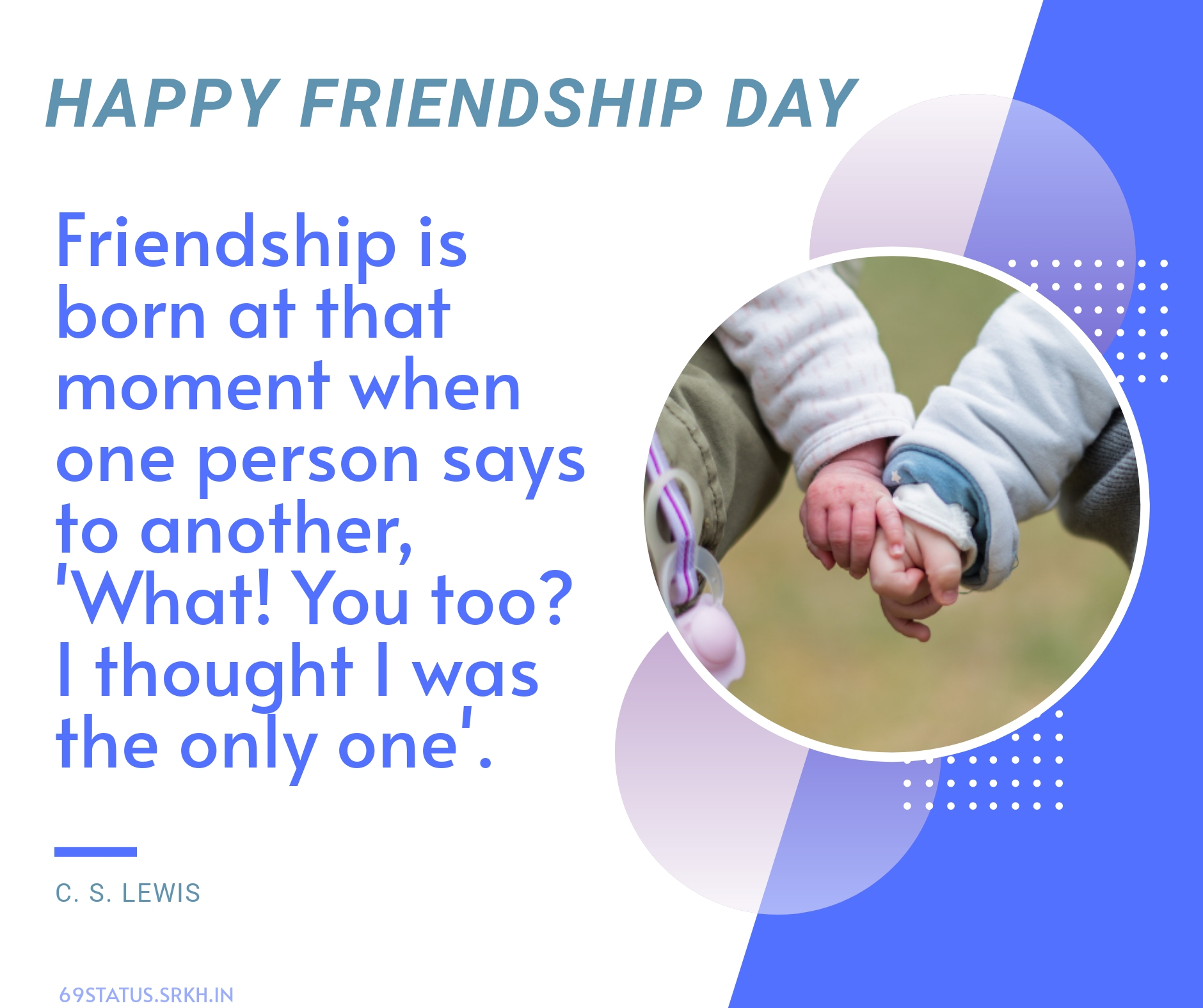 Happy Friendship Day Quotes Images full HD free download.