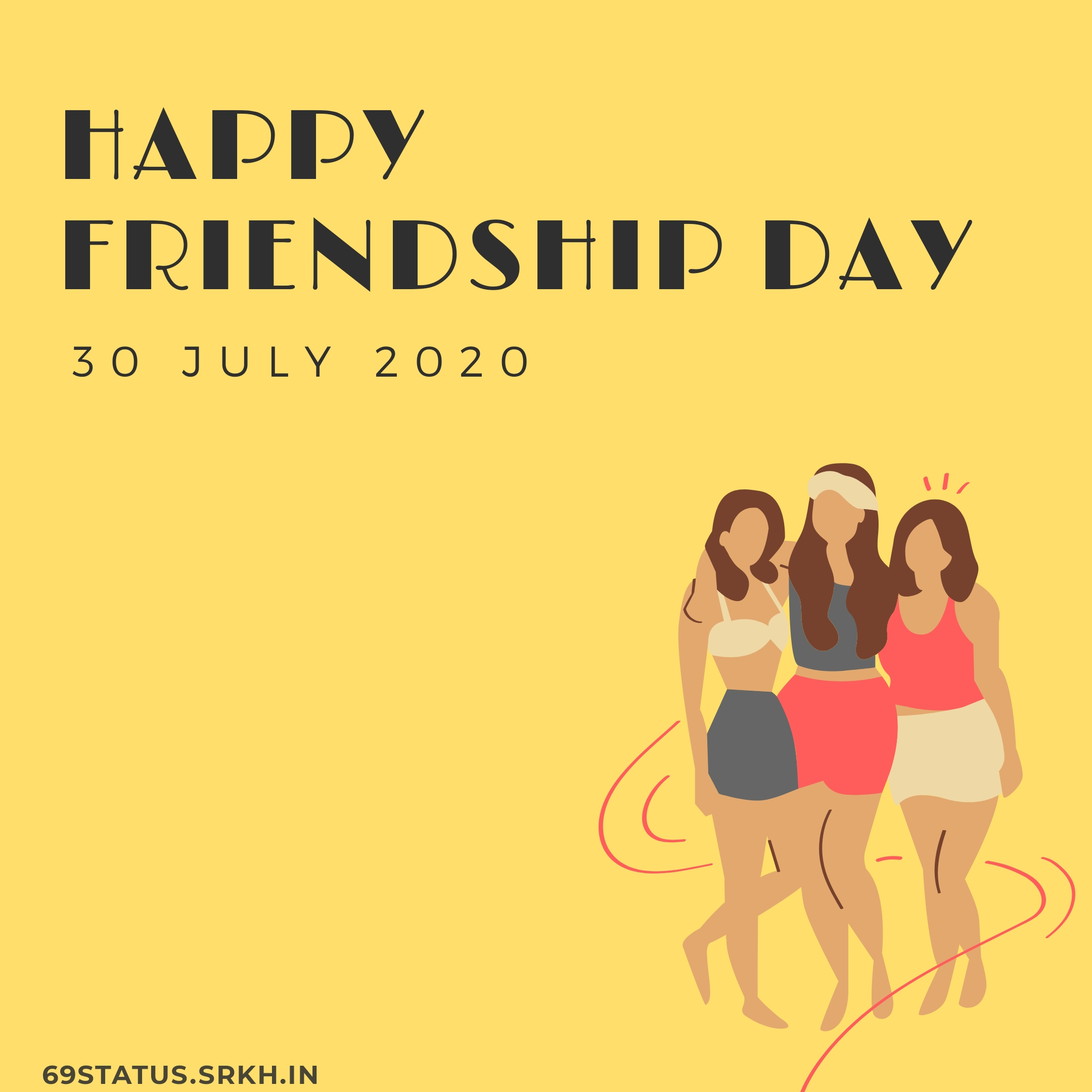 Happy Friendship Day full HD free download.