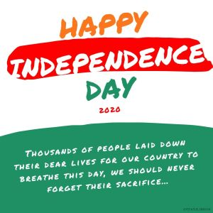 Happy Independence Day 2020 Images HD full HD free download.