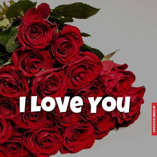 I Love You flowers images
