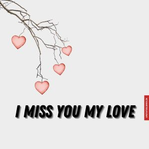 I miss you my love images full HD free download.