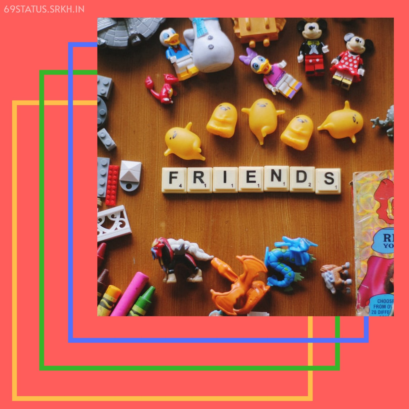 Images of Friendship Day Special Friends Word full HD free download.
