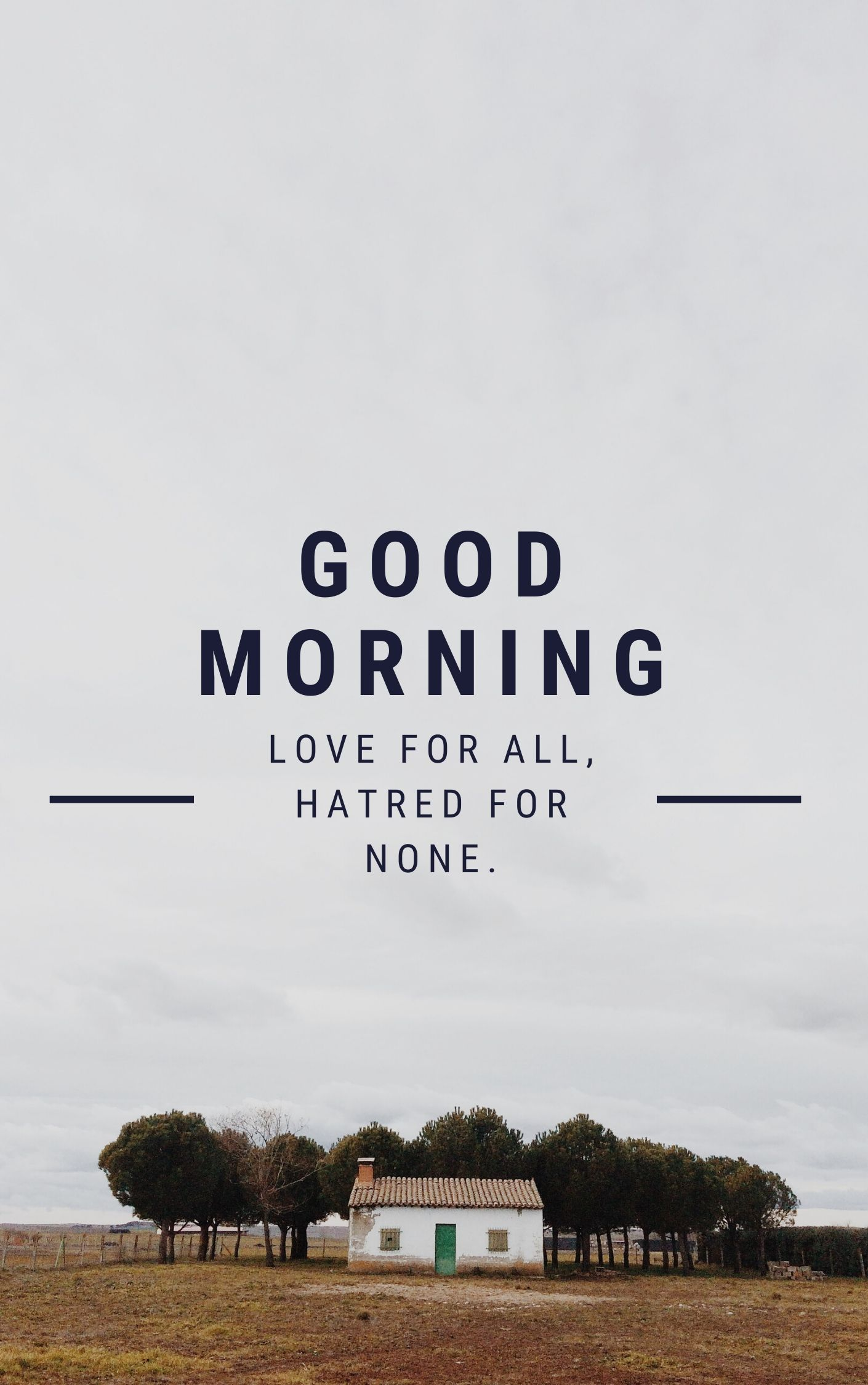 Love for All Hatred for none Good Morning Image full HD free download.