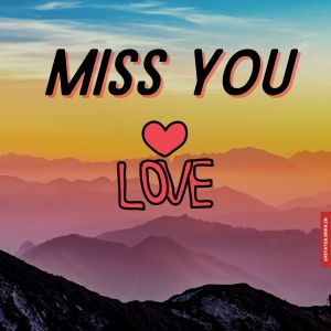 Love miss you images full HD free download.