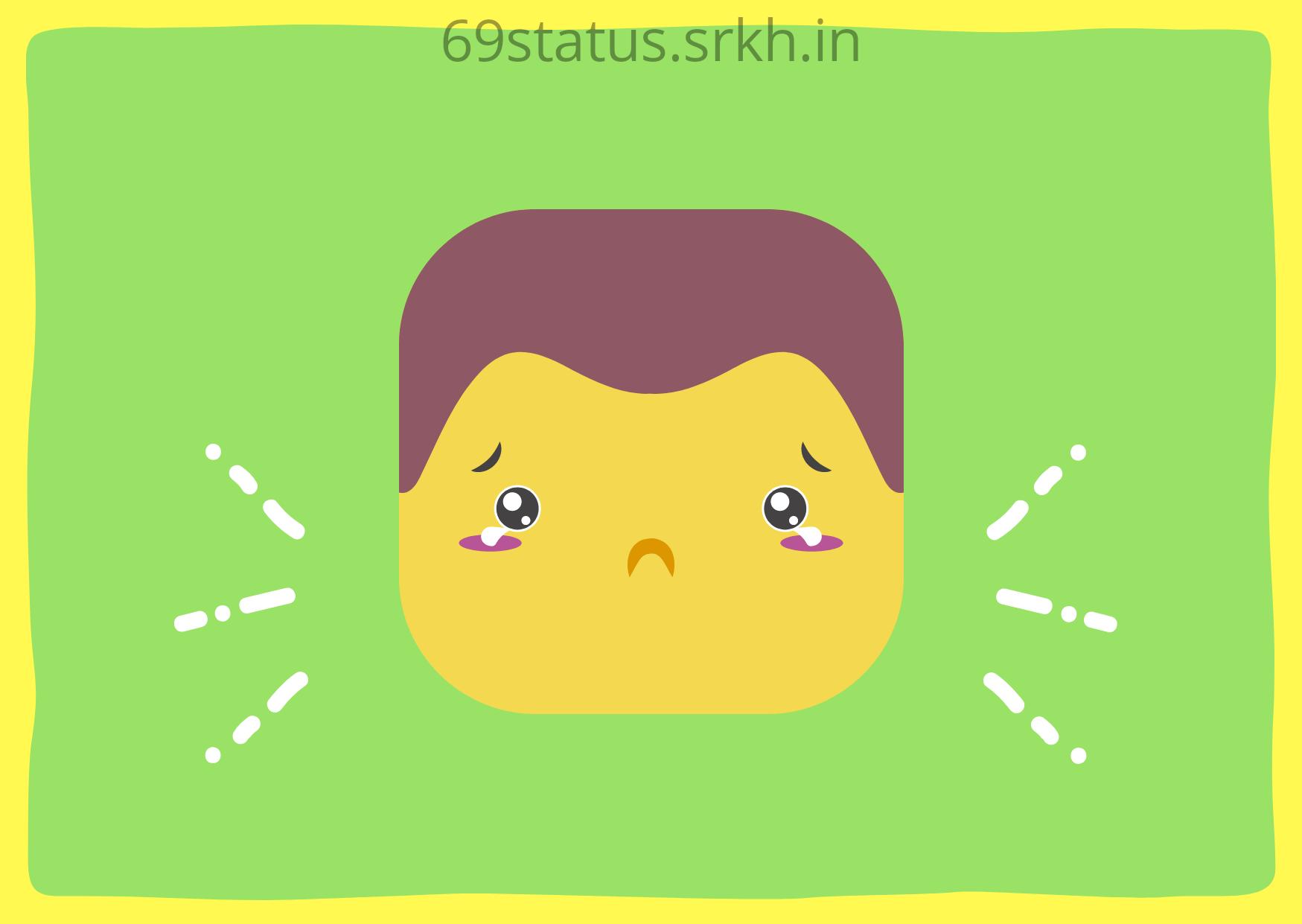 Sad Emoji photo Baby Face full HD free download.