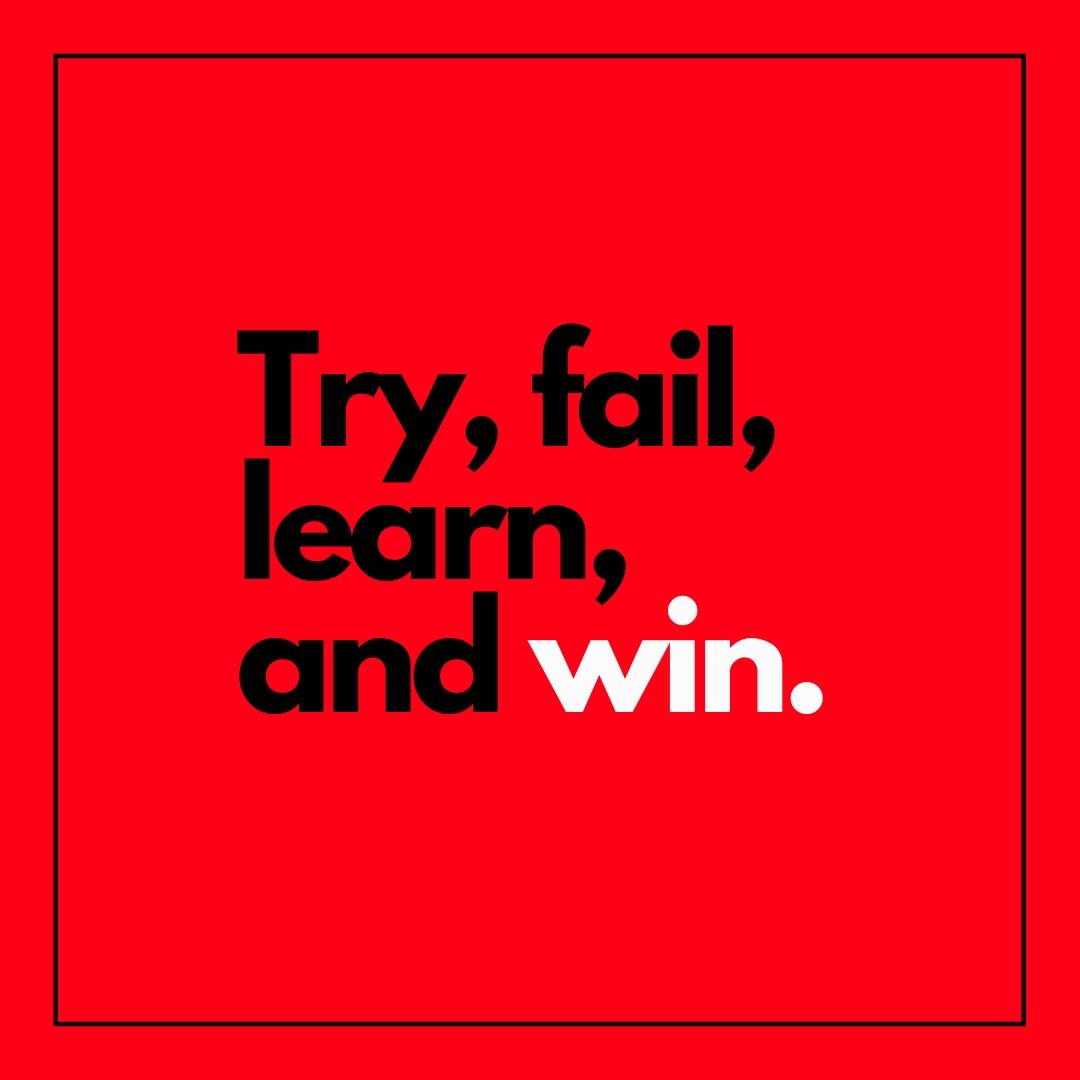 Try fail learn and win WhatsApp Dp image full HD free download.