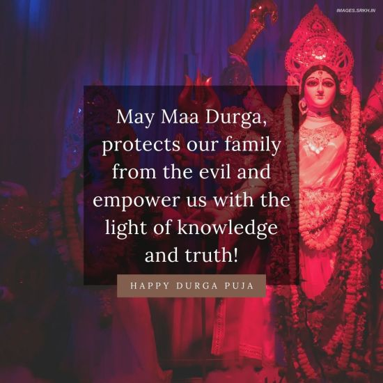 Durga Puja Wishes in HD
