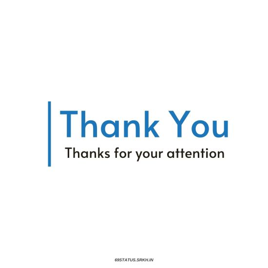 Formal Thank You Images for PPT