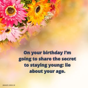 Happy Birthday Images With Flowers And Quotes full HD free download.