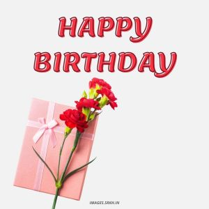 Happy Birthday Images With Flowers full HD free download.