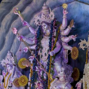 Image Of Durga Puja Pandal full HD free download.