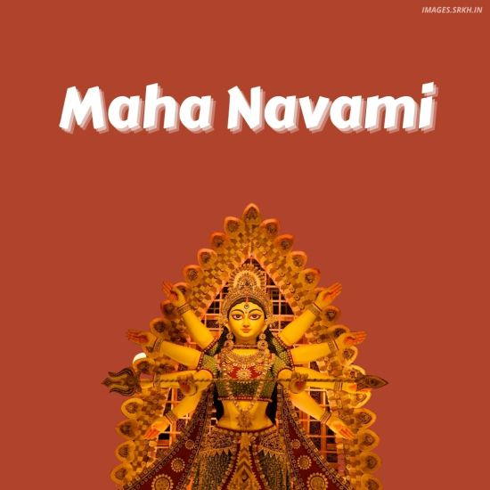Image Of Maha Navami Durga Puja