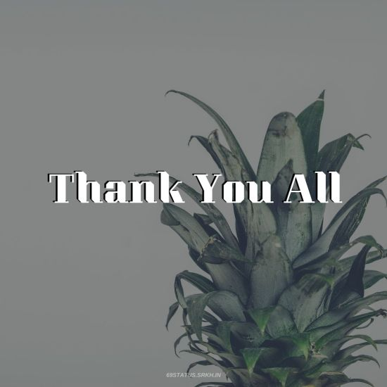 Thank You All Images HD