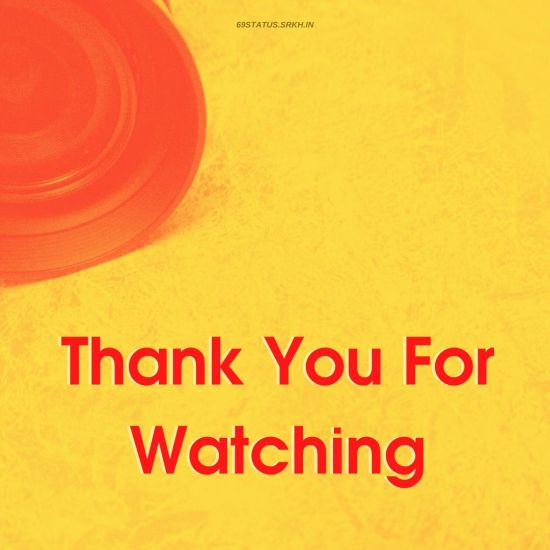 Thank You For Watching Images HD