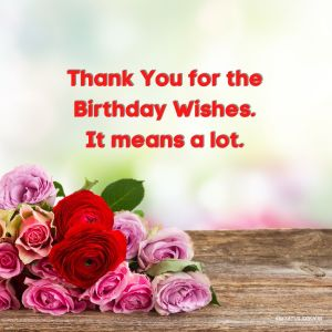 Thank You Images for Birthday Wishes HD full HD free download.