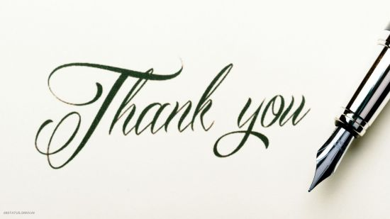 Thank You Images for PPT HD Pic