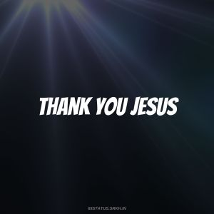 Thank You Jesus Images HD full HD free download.