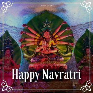 Image Happy Navratri full HD free download.