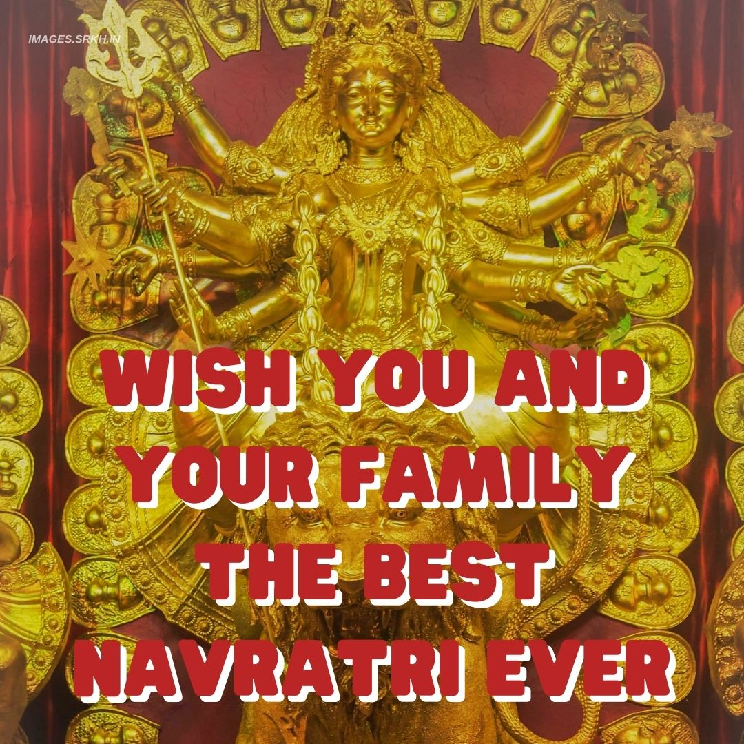Navratri Wishes Image full HD free download.