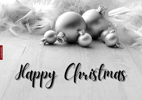 Christmas Black And White Images