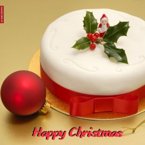 Christmas Cake Images full HD free download.