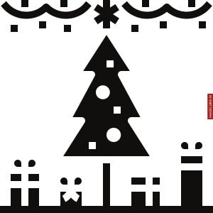 Christmas Outline Images full HD free download.