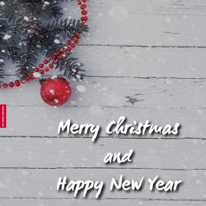 Merry Christmas And Happy New Year 2020 Image full HD free download.