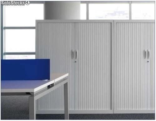 Armario metlico puertas persiana 2200x1200
