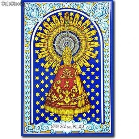 Azulejo imagen virgen del pilar al por mayor